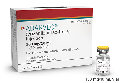 ADAKVEO® (crizalizumab-tmca) packaging