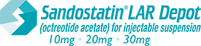 SANDOSTATIN® LAR Depot (octreotide acetate) for injectable suspension logo