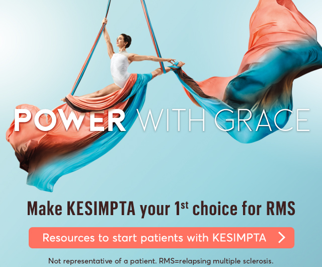 Make KESIMPTA your 1st choice for RMS